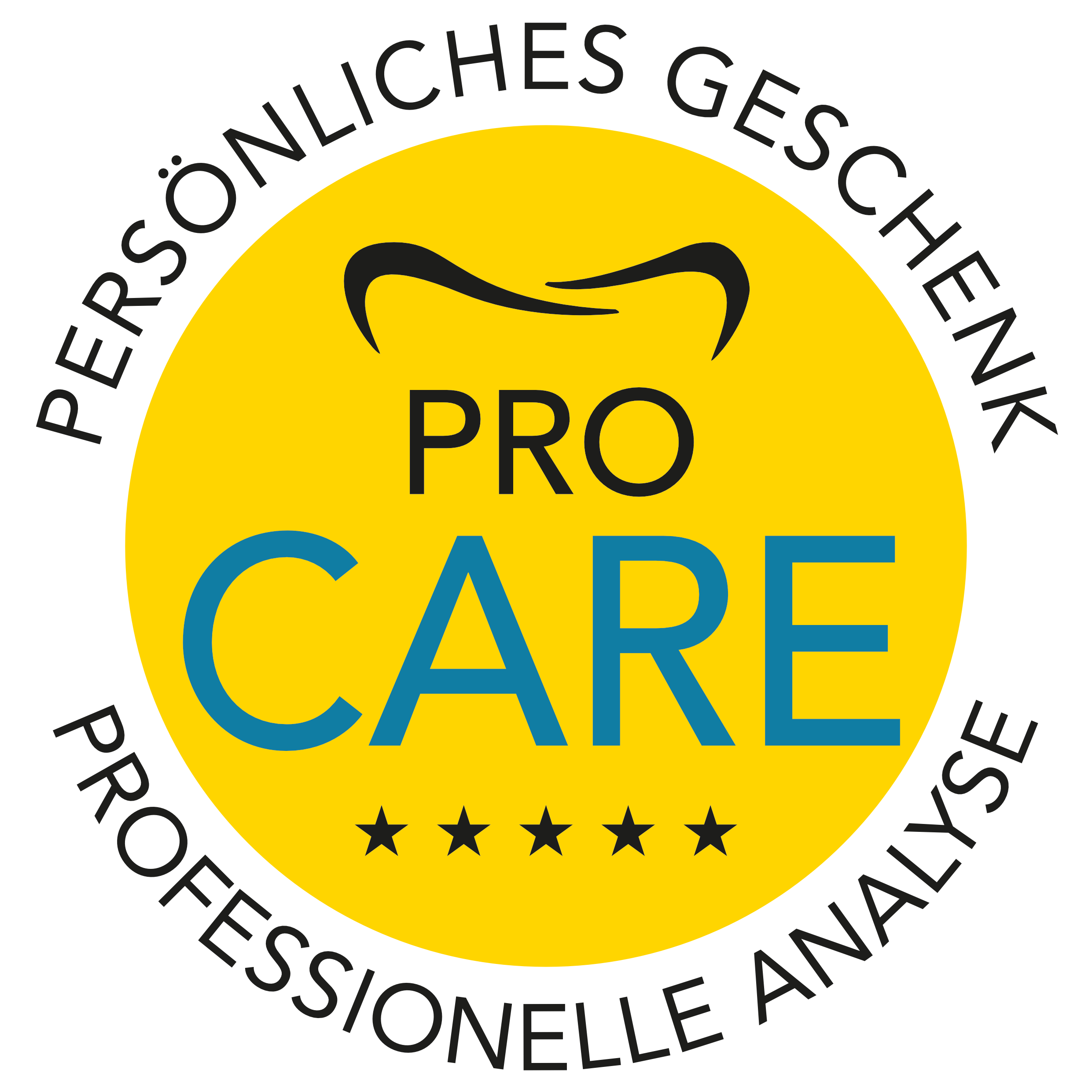 Geschenk - Erstuntersuchung ProCARE beim Zahnarzt